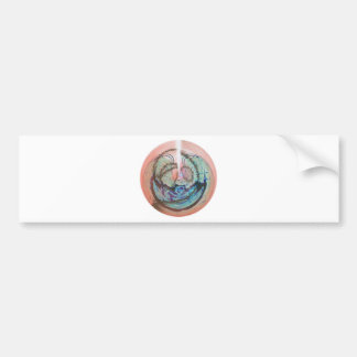 Ancient knowledge pendant bumper stickers