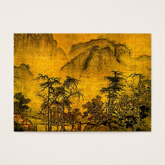 Ancient Landscape ATC Business Card