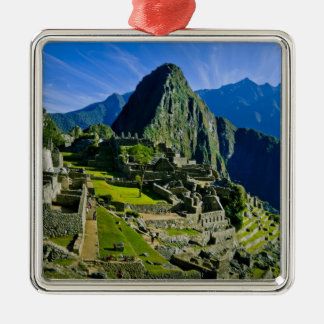 Ancient Machu Picchu, last refuge of the 2 Christmas Ornament