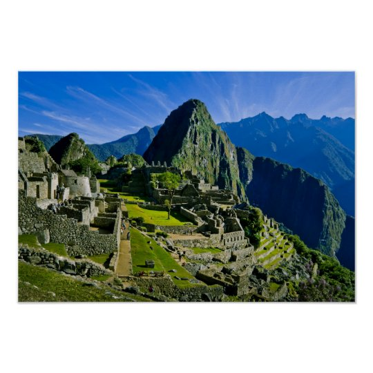 Ancient Machu Picchu, last refuge of the 2