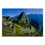 Ancient Machu Picchu, last refuge of the 2 Posters