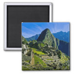 Ancient Machu Picchu, last refuge of the 2 Square Magnet