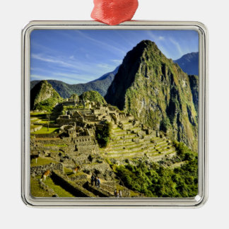 Ancient Machu Picchu, last refuge of the Christmas Ornament