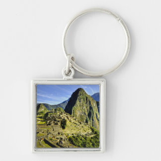 Ancient Machu Picchu, last refuge of the Key Chains