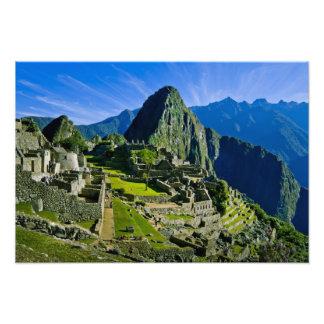 Ancient Machu Picchu, last refuge of the Photographic Print
