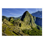 Ancient Machu Picchu, last refuge of the Poster