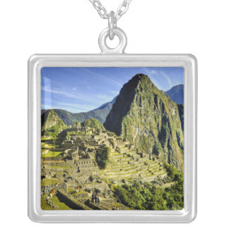Ancient Machu Picchu, last refuge of the Silver Plated Necklace