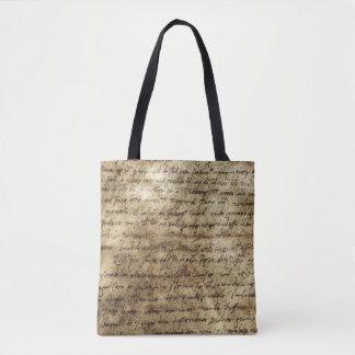 Ancient Manuscript 4 Tote Bag