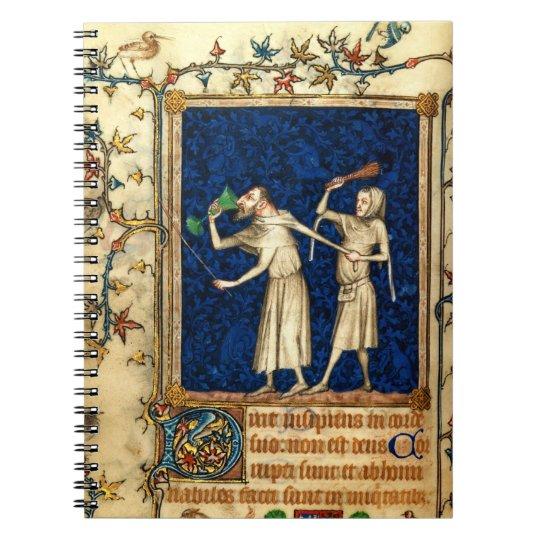 Ancient Manuscript Cover Notebook