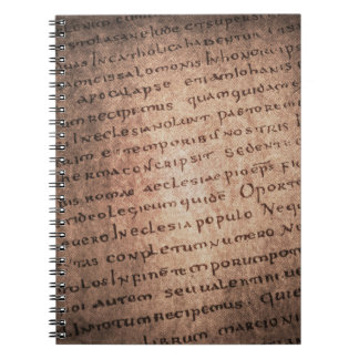 Ancient Manuscript Notebook