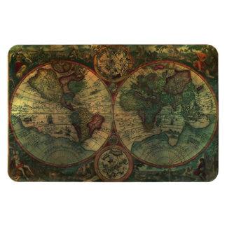Ancient Map Flexi Magnet