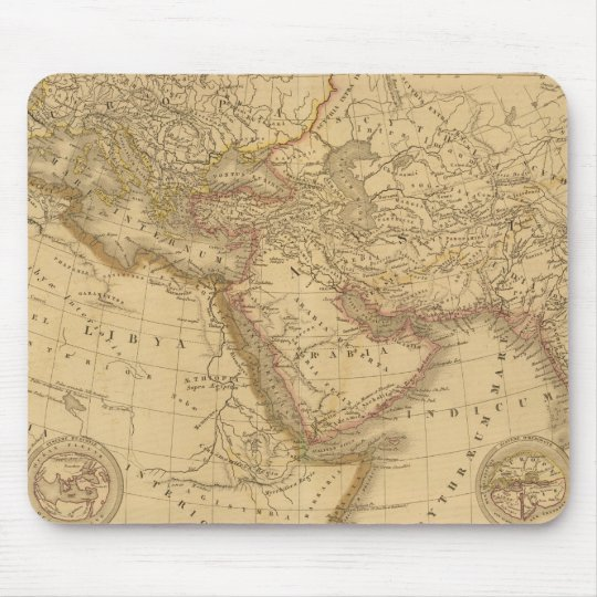 Ancient Map Mouse Pad