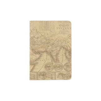 Ancient Map Passport Holder