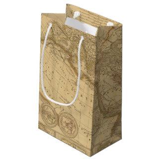 Ancient Map Small Gift Bag