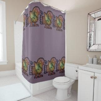 Ancient Mayan Bird Shower Curtain