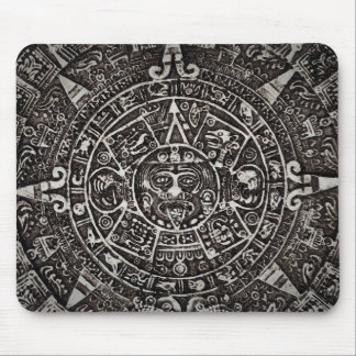 Ancient Mayan Calendar Mouse Pad