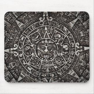 Ancient Mayan Calendar Mouse Pad