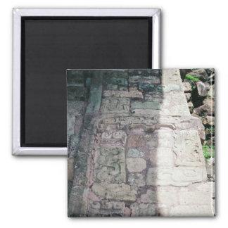 Ancient Mayan Ruins City of Copan Honduras Photo Magnet