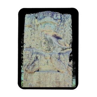 Ancient Mayan Ruins Copan Honduras Photo Designed Magnet