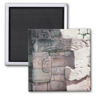 Ancient Mayan Ruins Photo Designed Refrigerator Magnet