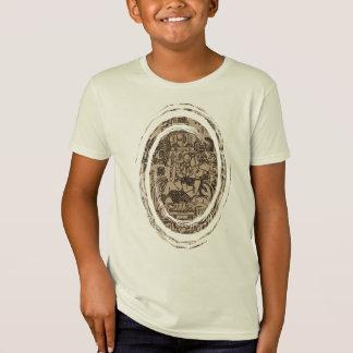 Ancient Mayan UFO - Pacal's Sarcophagus T-Shirt