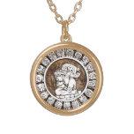 Ancient Mayan Zodiac Necklace