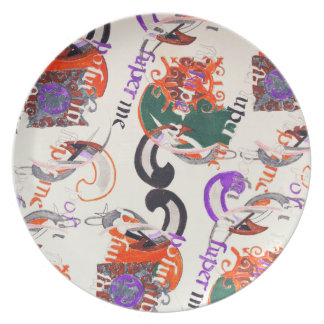 Ancient melody party plate