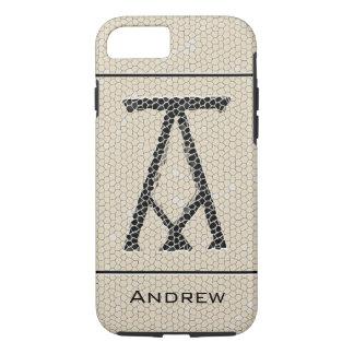 Ancient Monogram Letter A iPhone 8/7 Case