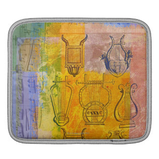 Ancient Musical Instruments iPad Sleeve