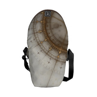 Ancient Nautical Chart, Grunge Commuter Bags