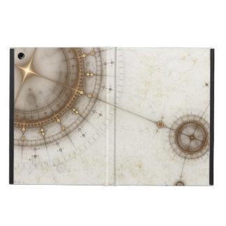 Ancient Nautical Chart, Grunge iPad Air Case