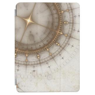 Ancient Nautical Chart, Grunge iPad Air Cover