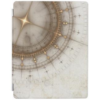 Ancient Nautical Chart, Grunge iPad Cover