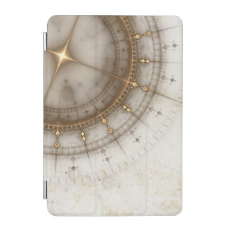 Ancient Nautical Chart, Grunge iPad Mini Cover