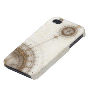 Ancient Nautical Chart, Grunge iPhone 4/4S Covers