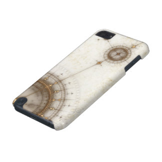 Ancient Nautical Chart, Grunge iPod Touch (5th Generation) Cover