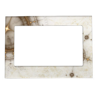 Ancient Nautical Chart, Grunge Magnetic Frame