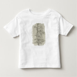 Ancient Oak Tree with a Stork's Nest Toddler T-Shirt
