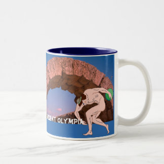 Ancient Olympia, Competitors tunnel Two-Tone Coffee Mug