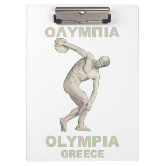 Ancient Olympia Greece Clipboard
