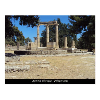 Ancient Olympia - Peloponnese Postcard
