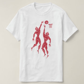Ancient Olympians Playing Basketball Funny Sports T-Shirt