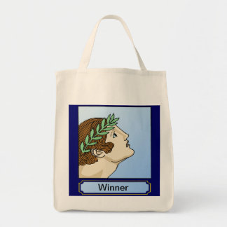 Ancient Olympic winner Canvas Bags