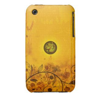 Ancient Orange Case-Mate iPhone 3 Case