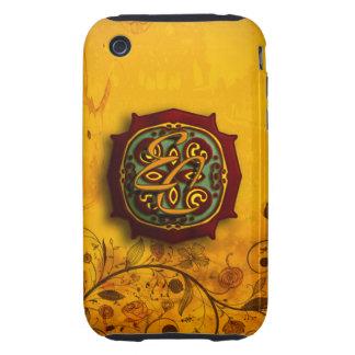 Ancient Orange Tough iPhone 3 Cases