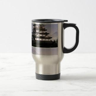 ANCIENT ORIENTAL TEMPLES COFFEE MUG