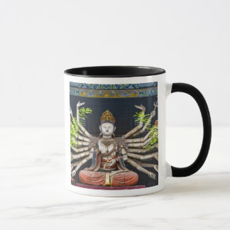 Ancient painted sculptures in Shuanglin Mug