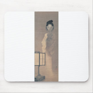 Ancient Painting of a Japanese Ghost. Mouse Pads