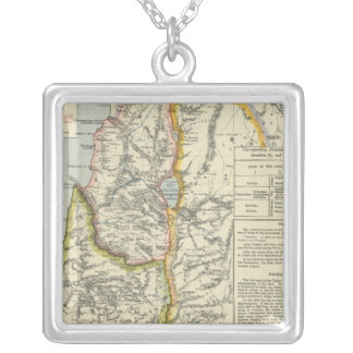 Ancient Palestine 2 Silver Plated Necklace