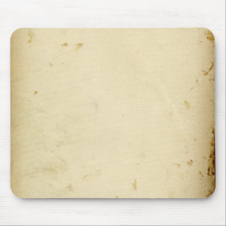 Ancient Parchment Stained Yellowed Vintage Blank Mouse Mat